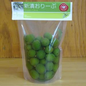 小豆島産オリーブの新漬け・岬工房の『新漬おりーぶ』